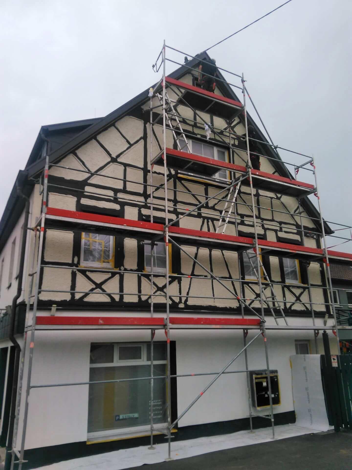 Fachwerkhaus - beim Renovieren